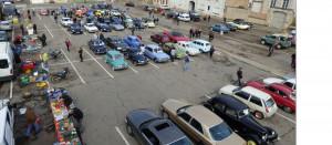 Beaucoup de voitures à admirer ..