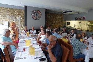 Succulent repas partagé au restaurant :  HISTOIRE SANS FAIM